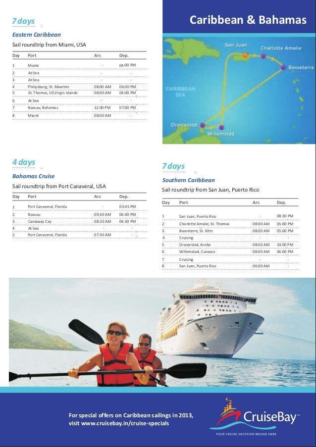 Cruisebay Brochure For Cruise Vacations
