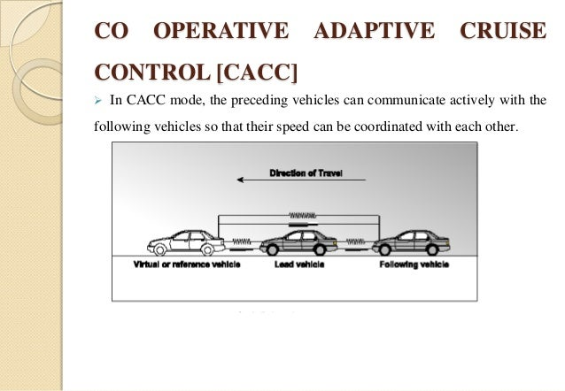 Cruise control devices