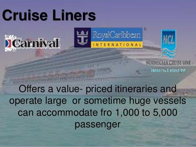 Cruise industry Slide 3