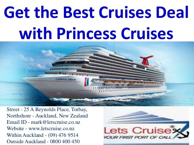 princess cruises best deals