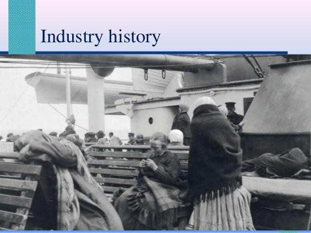 Industry history  11/20/2013  Principles of Tourism 2 - InstructorFaye B. Lagman  8
