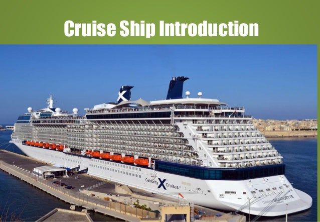 Cruise Ship Introduction