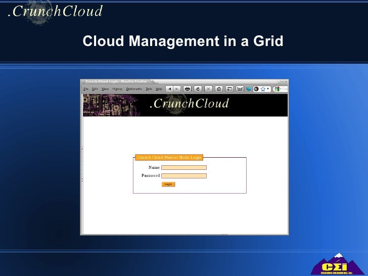 Cloud Management in a Grid