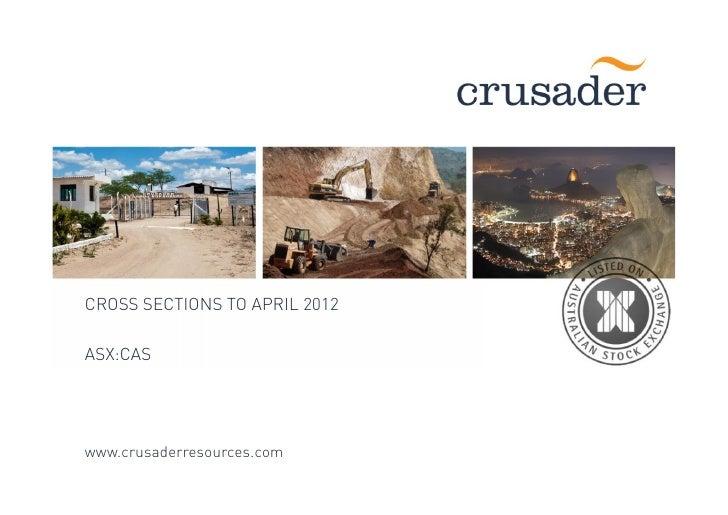 Crusader Resources Projeto Porborema