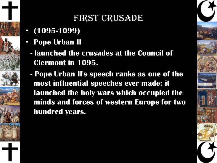pope urban speech at clermont essay Expert interview with pope urban ii more interview essay topics pope urban ii biography pope urban ii (1042- 1099) was an influential pope from 1008 to 1099 urban ii: speech at council of clermont, 1095, five versions of the speech.