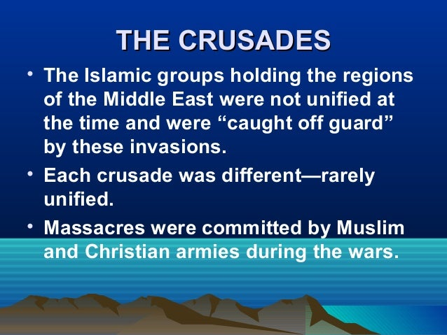 an overview and analysis of the roles of the crusades Table column headings used in the analysis of the notarial records  role did  the residents of genoa play in the preparations for the crusade, and how did the.