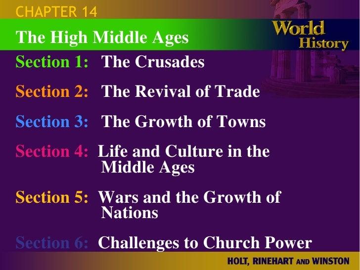 An analysis of crusades