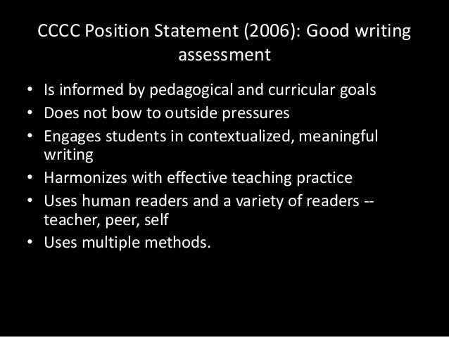 writing assessment pdf