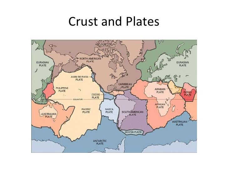 Crust and Plates<br />
