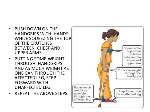 Image result for crutch walking