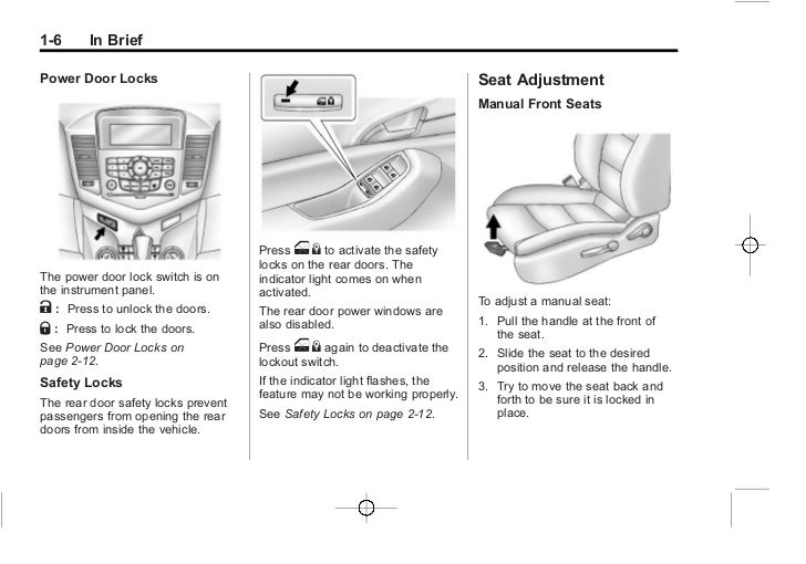 chevrolet cruze workshop manual download