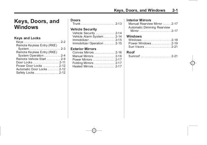2012 chevy cruze owner s manual baltimore maryland rh slideshare net 2012 Cruze Interior 2014 cruze owners manual
