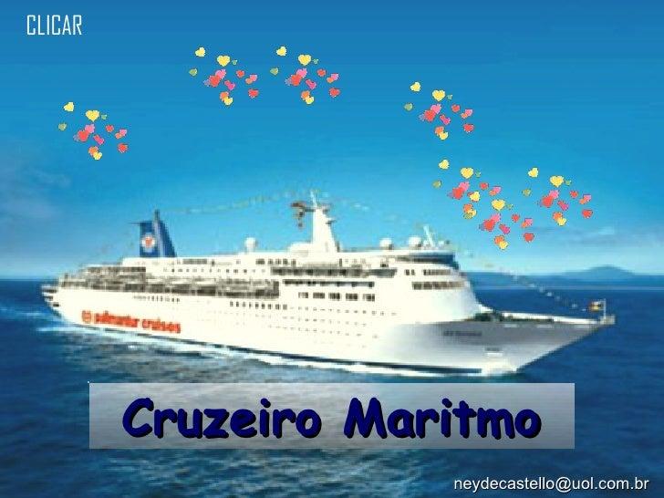 Cruzeiro Maritmo CLICAR [email_address]