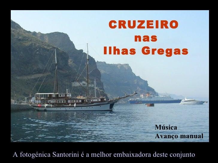 CRUZEIRO                                  nas                             Ilhas Gregas                                    ...