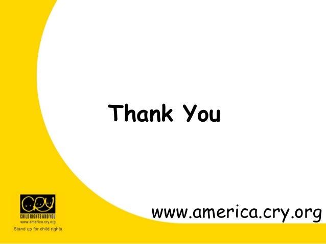 Thank You www.america.cry.org
