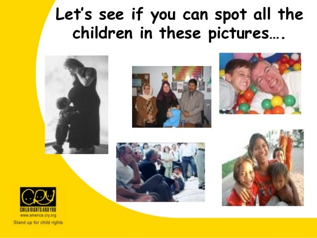 Let's see if you can spot all the children in these pictures….