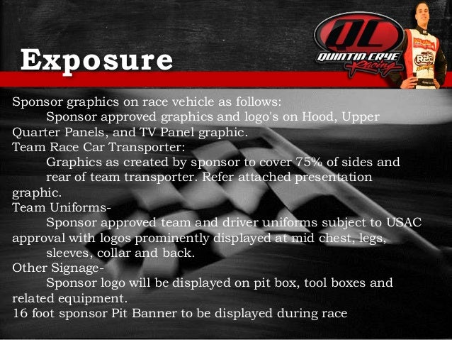 Racing sponsorship proposal 7 free racing sponsorship for Motorsports sponsorship proposal template