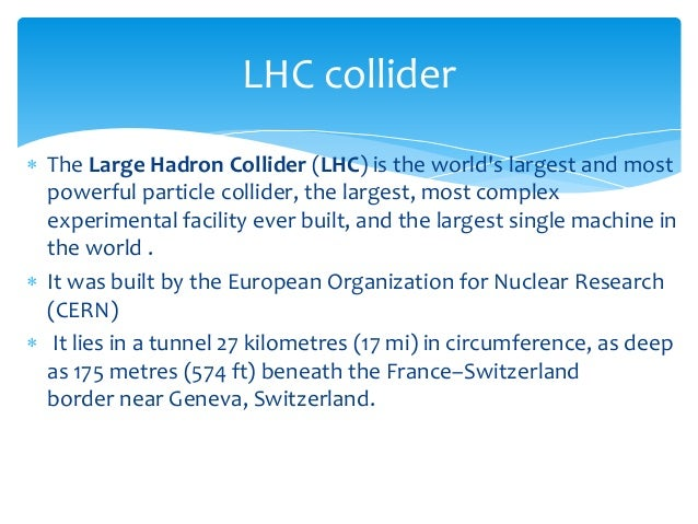 Large Hadron Collider by Emily B