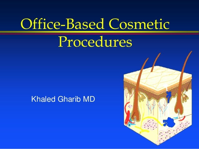 Office-Based Cosmetic Procedures Khaled Gharib MD