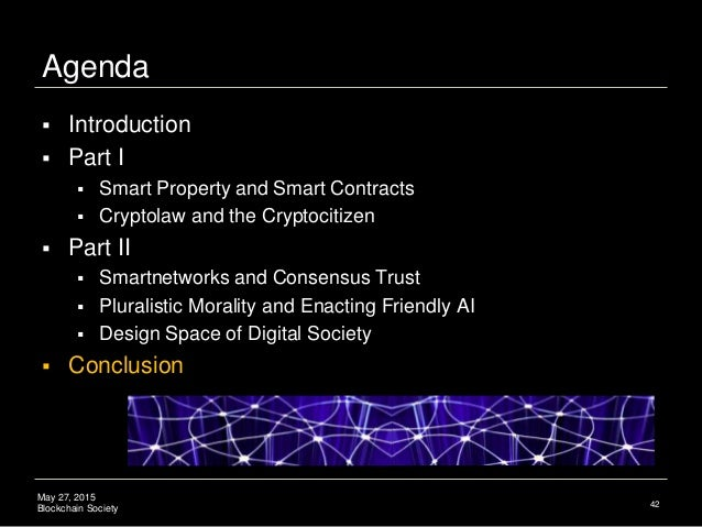 Cryptocitizen Smart Contracts Pluralistic Morality And