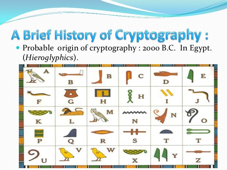 history of cryptography Modern cryptography - learn cryptography in simple and easy steps origin of cryptography, modern cryptography, cryptosystems, attacks on cryptosystem,.