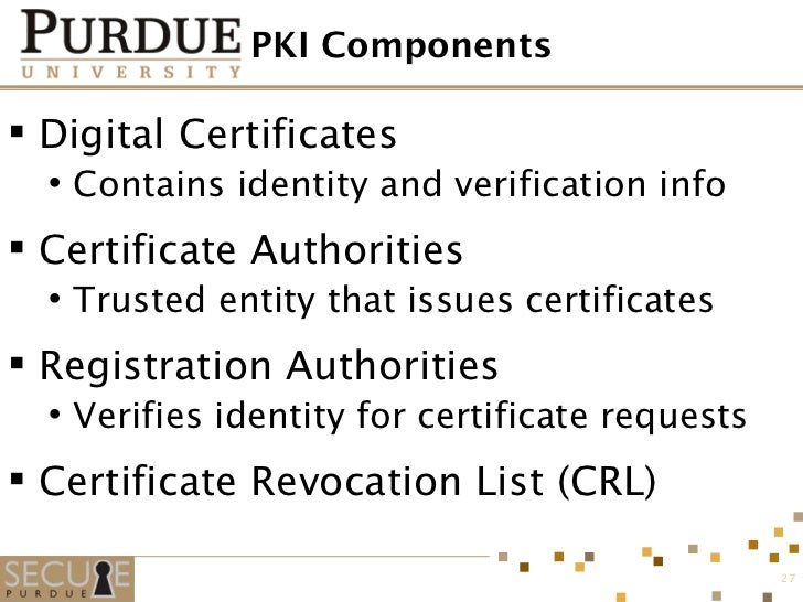 relationship between ssl and pki