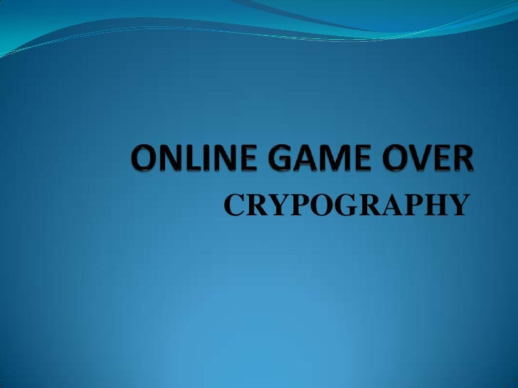 CRYPOGRAPHY