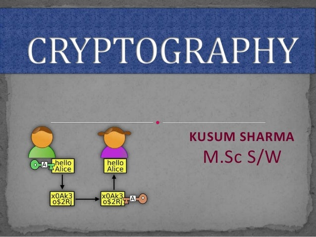 Cryptography ppt