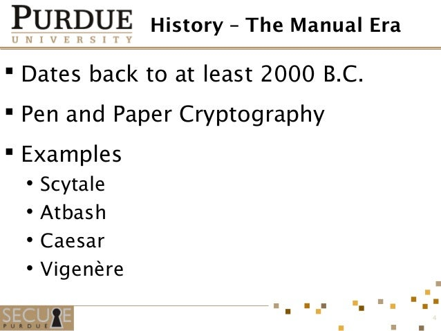 introduction to cryptography essay Introduction to modern cryptography after the merge with the more general 'which are some good books on cryptography' my answer is probably not very relevant anymore as i answered a question which seemed to be from a highschooler looking for sources to write an essay 22k views.