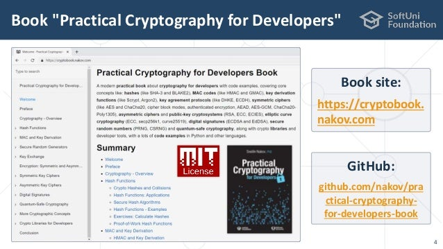 Cryptography for Java Developers: Nakov jProfessionals (Jan 2019)