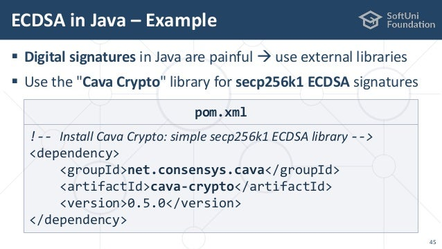 Cryptography for Java Developers: Nakov jProfessionals (Jan