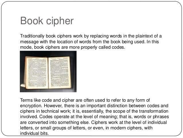 Secret Codes & Ciphers - CYFAR