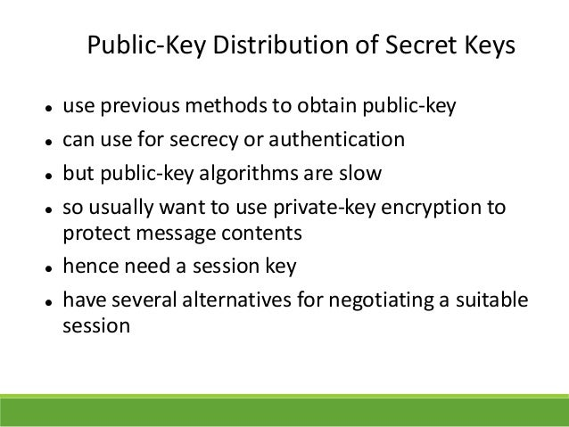 Cryptography and applications