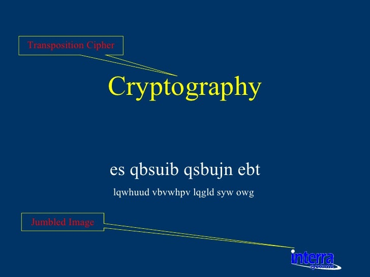a synopsis of a research in encryption and cryptography Modes which perform full authenticated encryption cryptography and one deals with formal approaches to protocol design • a summary of what the chapter.