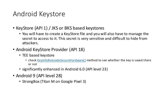 How to do Cryptography right in Android Part One