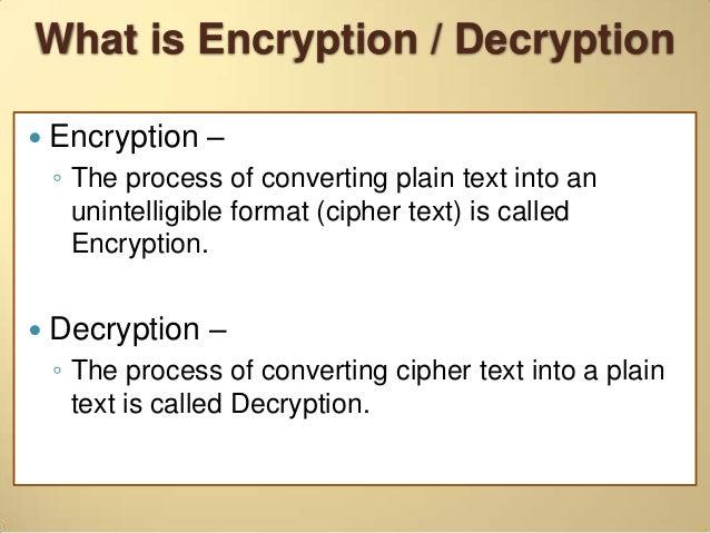 types of encryption algorithms pdf