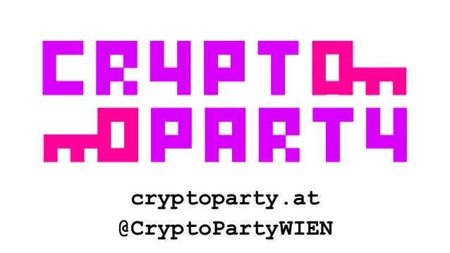 cryptoparty.at @CryptoPartyWIEN