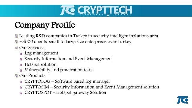 CryptTech 2015 Slide 3