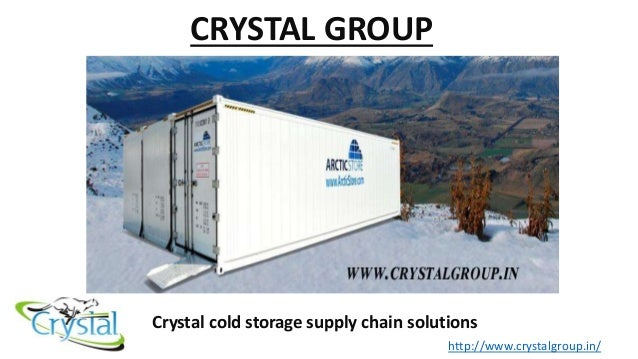 Crystal Cold chain logistics India