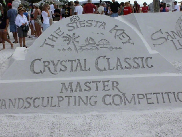The Siests Key Crystal Classic Master Sandsculpting Competition