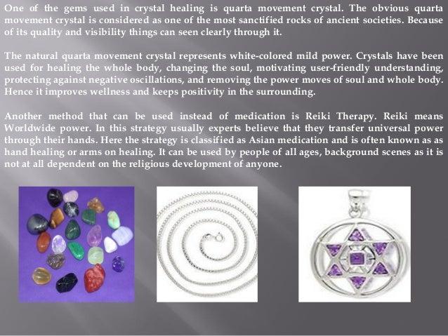 Reiki Healing Crystals - 웹