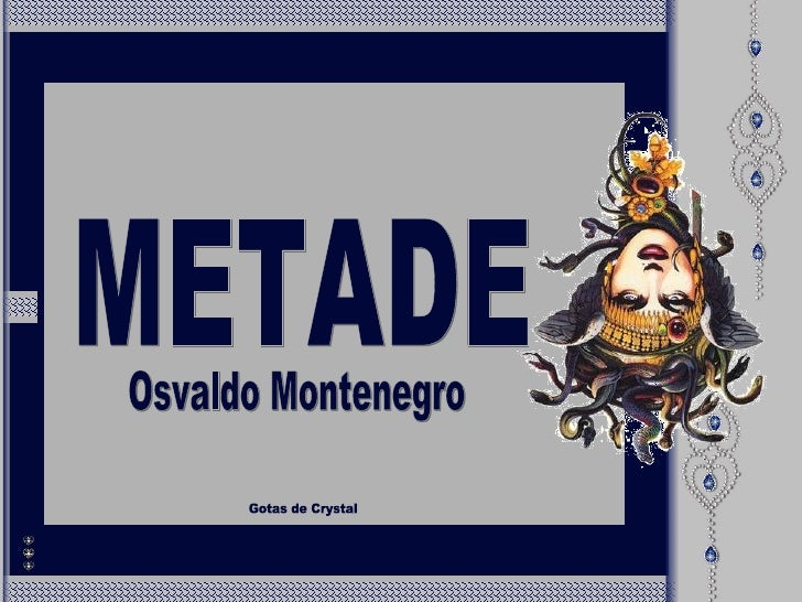 METADE Gotas de Crystal Osvaldo Montenegro