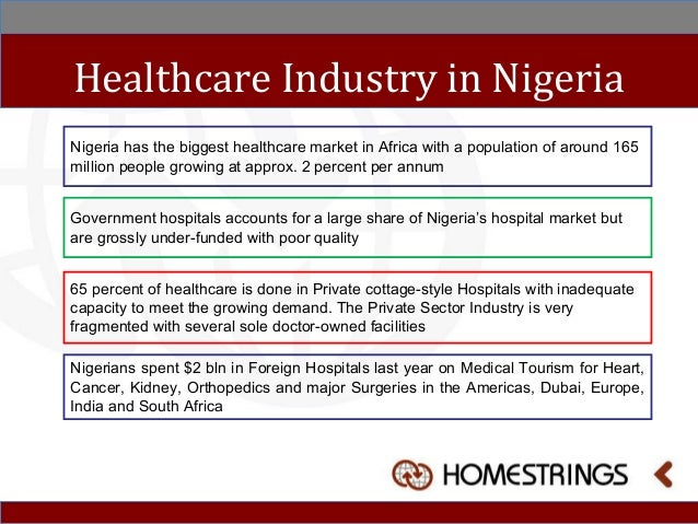 Investing In Nigeria With Homestrings Healthcare Project