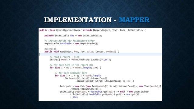 IMPLEMENTATION - MAPPER