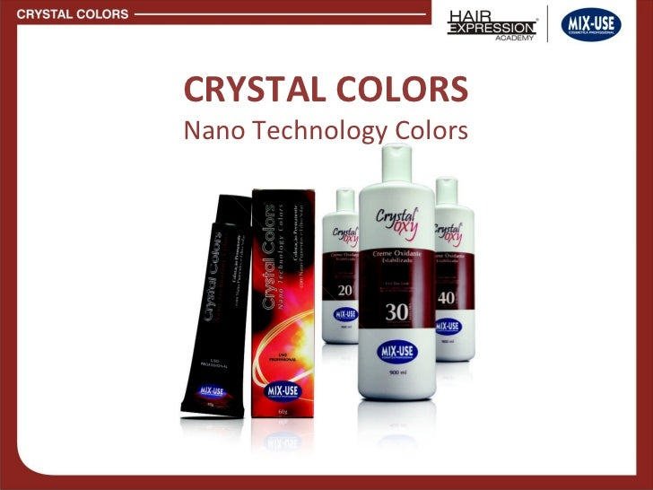 CRYSTAL COLORS Nano Technology Colors
