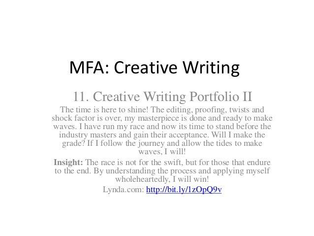 cv mfa creative writing