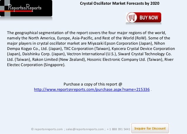 Global crystal oscillator market shares strategies and - The net a porter group asia pacific limited ...
