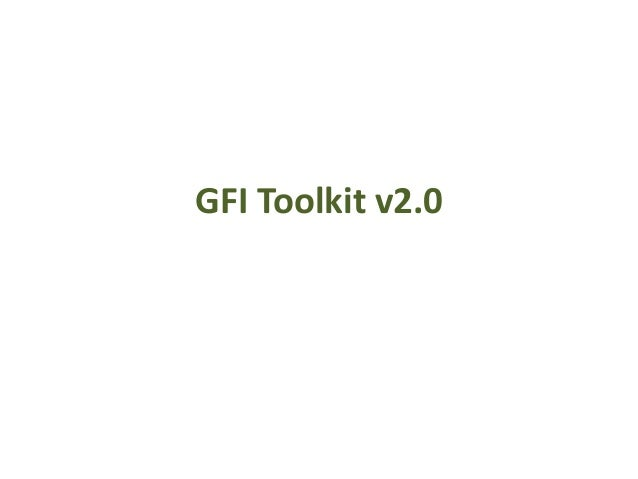 GFI Toolkit v2.0