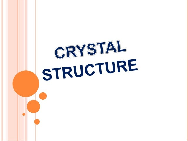 crystal physics in engineering pdf