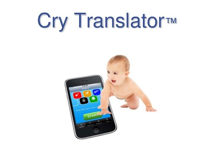 Cry Translator™<br />